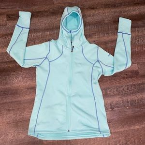 Avalanche Green Full Zip up hoodie